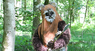 Swiss Ewok Cosplay